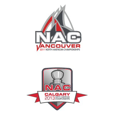 North American Championships Logos