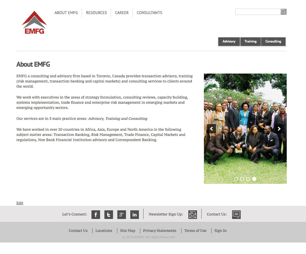 EMFG Website
