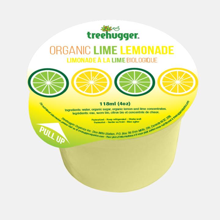 4oz Lime Lemonade Package Sample