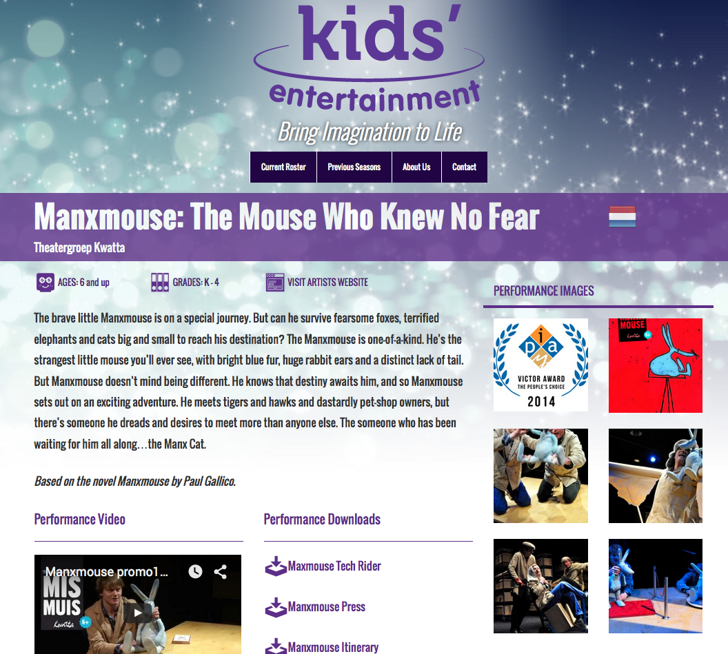 Kids Entertainment Show Detail